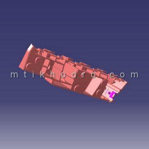 پایه چپ سپر جلو ام وی ام MVM X22